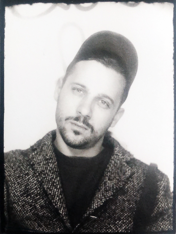 Benjamin Ehrenberg Portrait Picture B&W